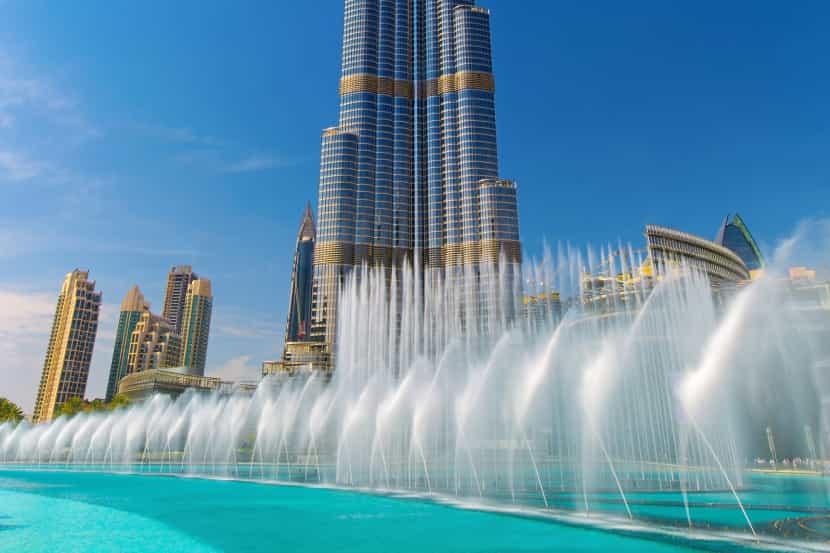Dubai with Abu Dhabi